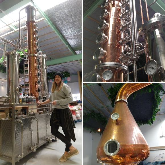 From whiskey to gin at Southward Distilling Co.