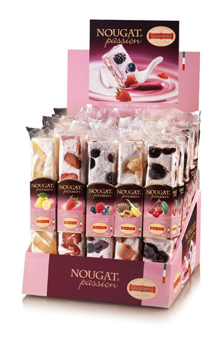QUARANTA NOUGAT PASSION BAR FRUIT 100GM