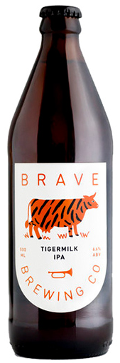 BRAVE BREWING TIGERMILK IPA 500ML