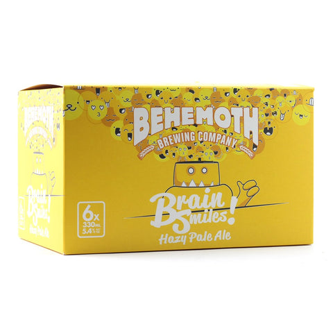 BEHEMOTH BRAIN SMILES 330ML 6 PACK