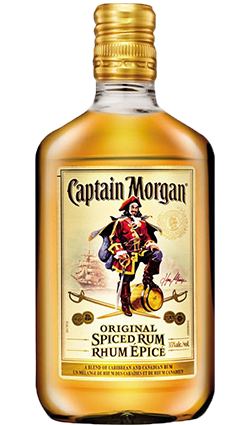 CAPTAIN MORGAN SPICED GOLD RUM 35% 200ML