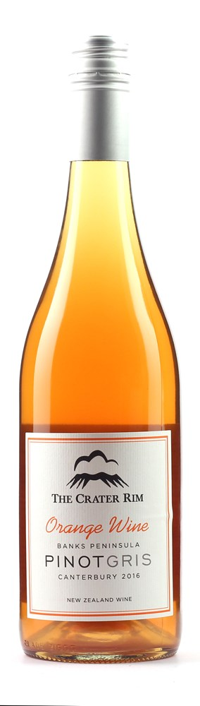 CRATER RIM WAIPARA ORANGE WINE PINOT GRIS NORTH CANTERBURY 16