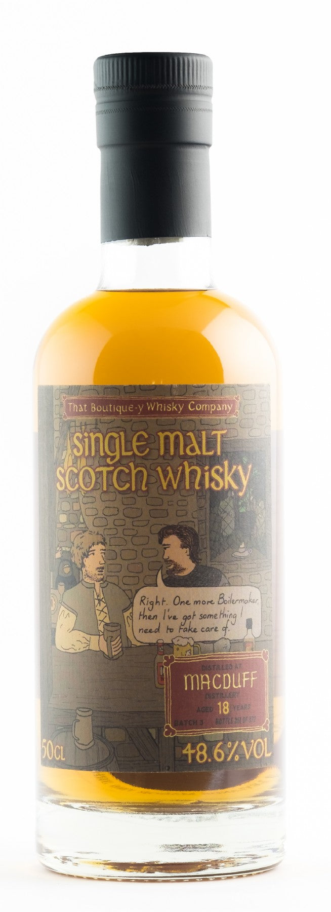 MACDUFF BOUTIQUE-Y 18YO 48.6% 500ML
