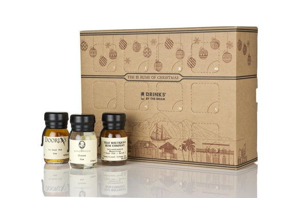 THE 12 SCOTCH WHISKIES OF CHRISTMAS (12x30ml)