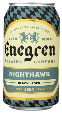 ENEGREN NIGHTHAWK BLACK LAGER 355ML
