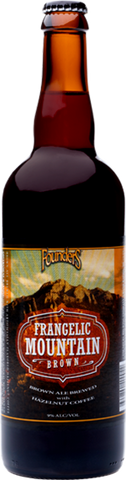 FOUNDERS BACKSTAGE SERIES #4: FRANGELIC MOUNTAIN BROWN 355ML