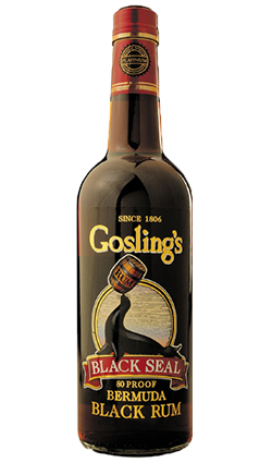 GOSLINGS RUM BLACK SEAL 1 LITRE