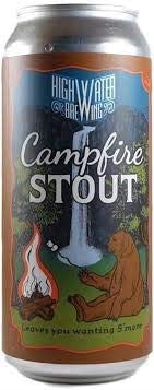 HIGH WATER BREWING CAMPFIRE STOUT 473ML