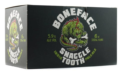 BONEFACE SNAGGLE TOOTH IPA 330ML 6 PACK