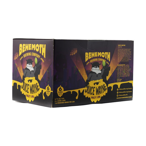 BEHEMOTH STAY-CATION HAZY IPA 6 PACK