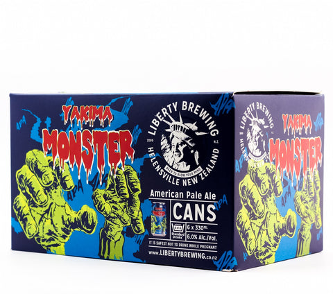 LIBERTY YAKIMA MONSTER 330ML 6PK