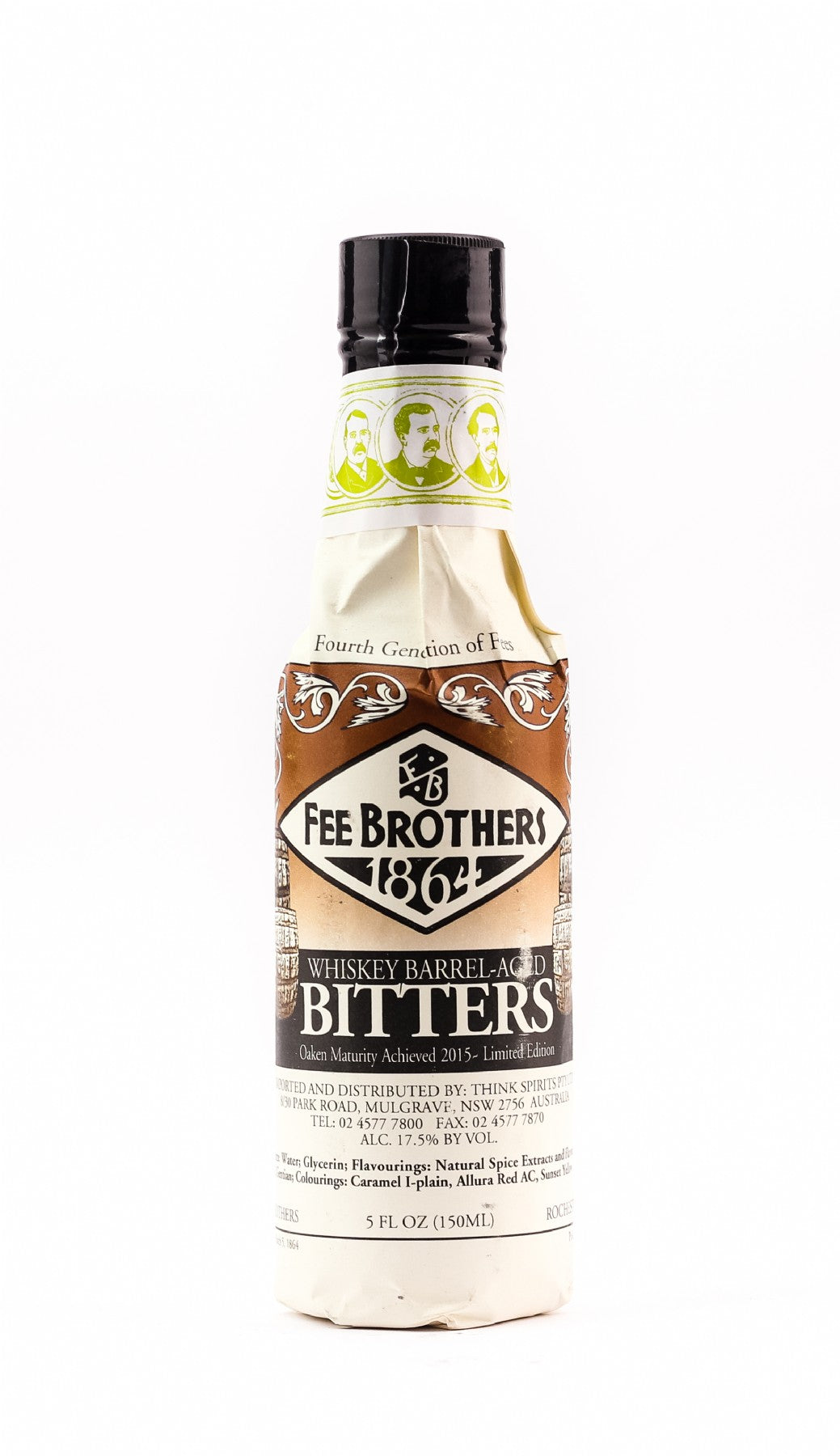FEE BROTHERS WHISKEY AGED ORIGINAL BITTERS 120ML