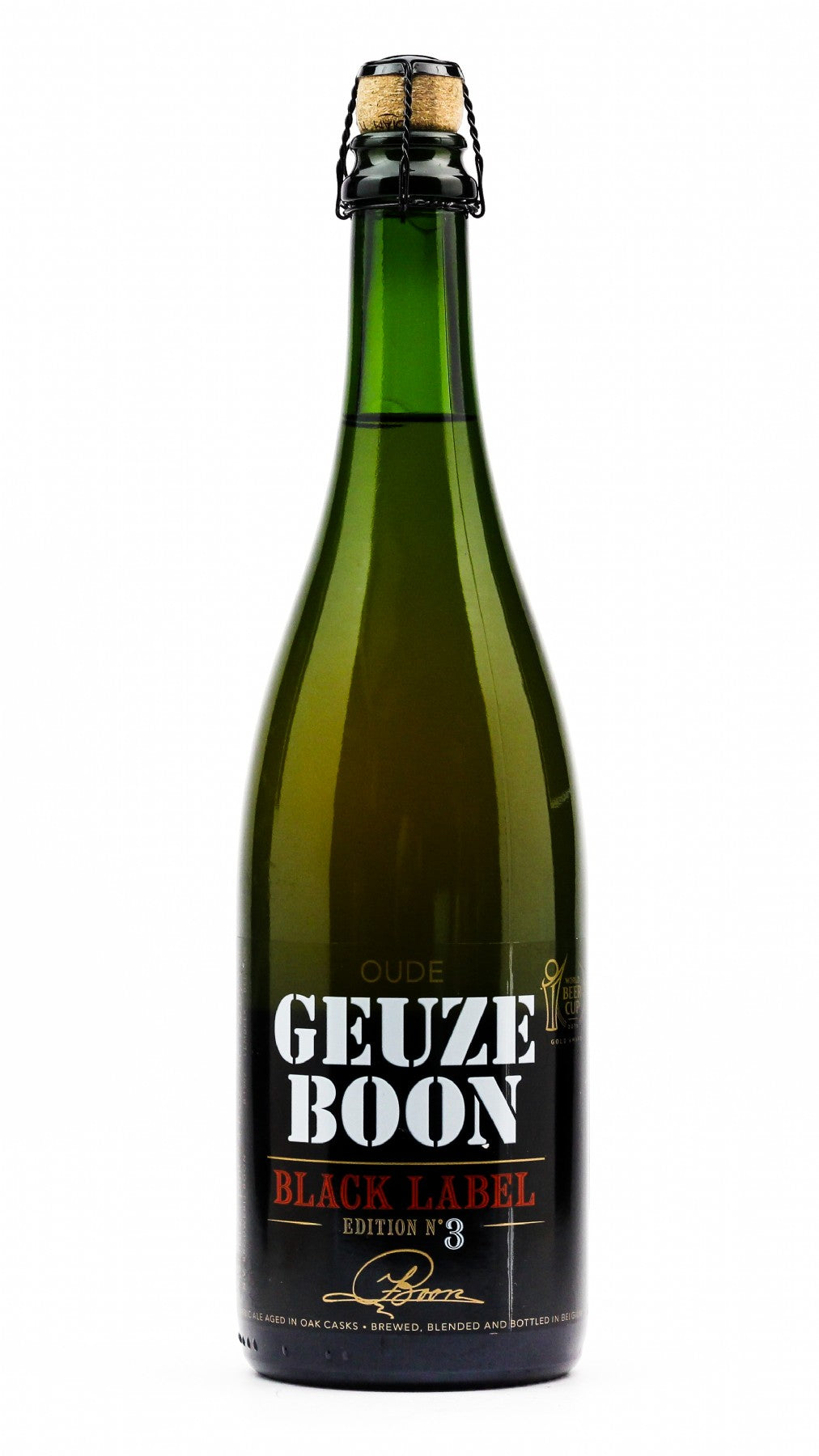OUDE GEUZE BOON BLACK LABEL 750ML