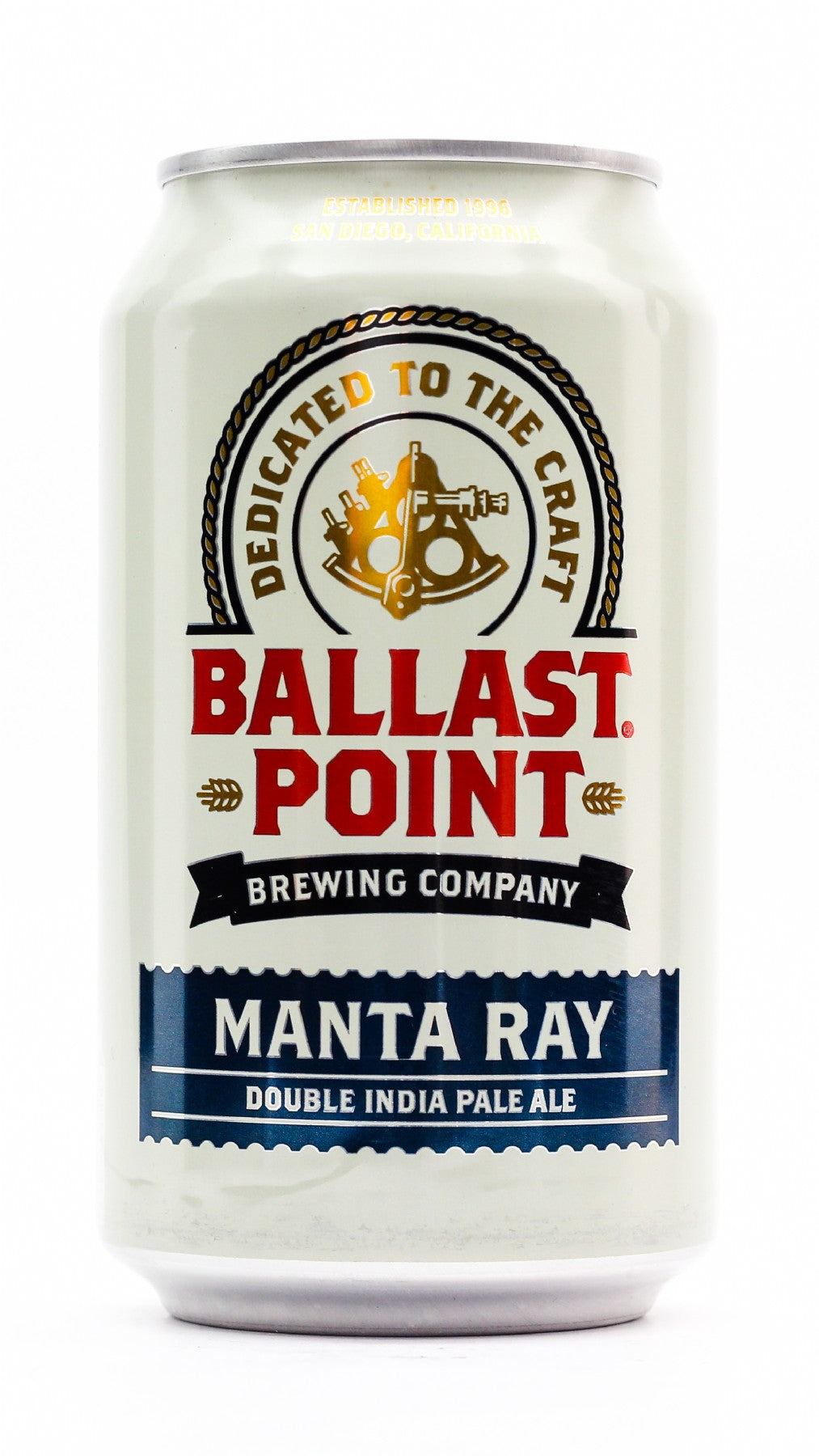 BALLAST POINT MANTA RAY  DOUBLE IPA 355ML CAN