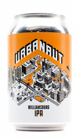 URBANAUT WILLIAMSBURG IPA 330ML CAN