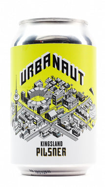 URBANAUT KINGSLAND PILSNER 330ML CAN