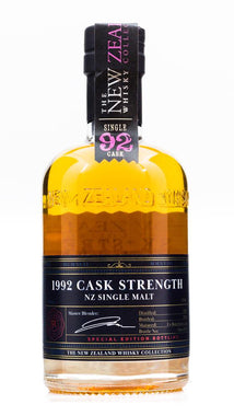 NZWC REGIONALS 1992 CASK STRENGTH 350ML