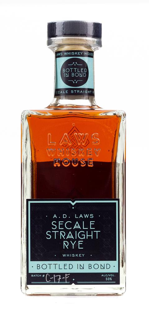 A D LAWS BOTTLED IN BOND RYE 50% 700ML