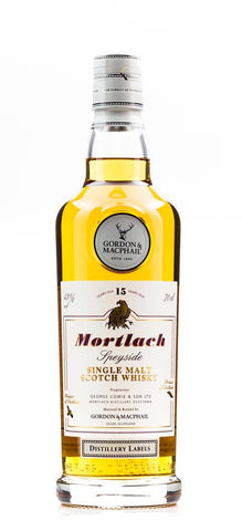 MORTLACH G&M 15YO 43% 700ML DISTILLERY LABEL SERIES