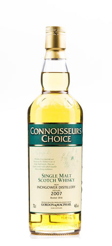 INCHGOWER G&M CONNOISSEURS CHOICE 2007/2016 46% 700ML