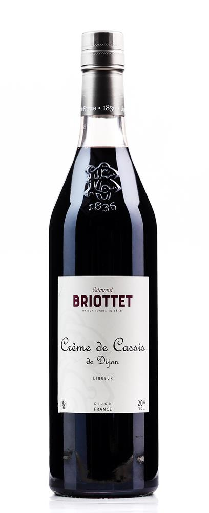 BRIOTTET (BLACK CURRANT) CREME CASSIS de DIJON 700ML