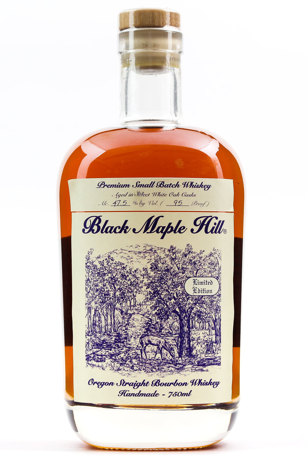 BLACK MAPLE HILL OREGON BOURON 47.5% 750