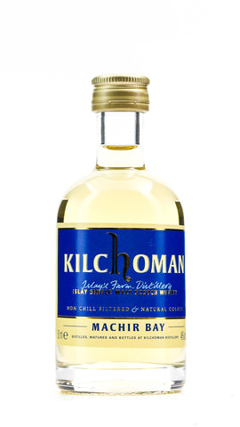 KILCHOMAN MACHIR BAY 46% 50ML MINIATURE