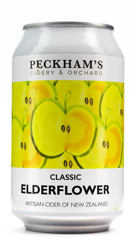 PECKHAM'S CIDER WITH ELDERFLOWER 330ML
