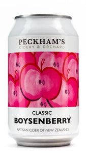 PECKHAM'S CIDER BOYSENBERRY CAN SINGLE