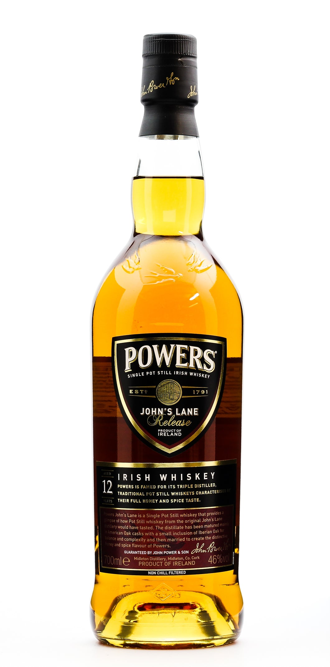 POWERS JOHN LANE IRISH MALT 46%