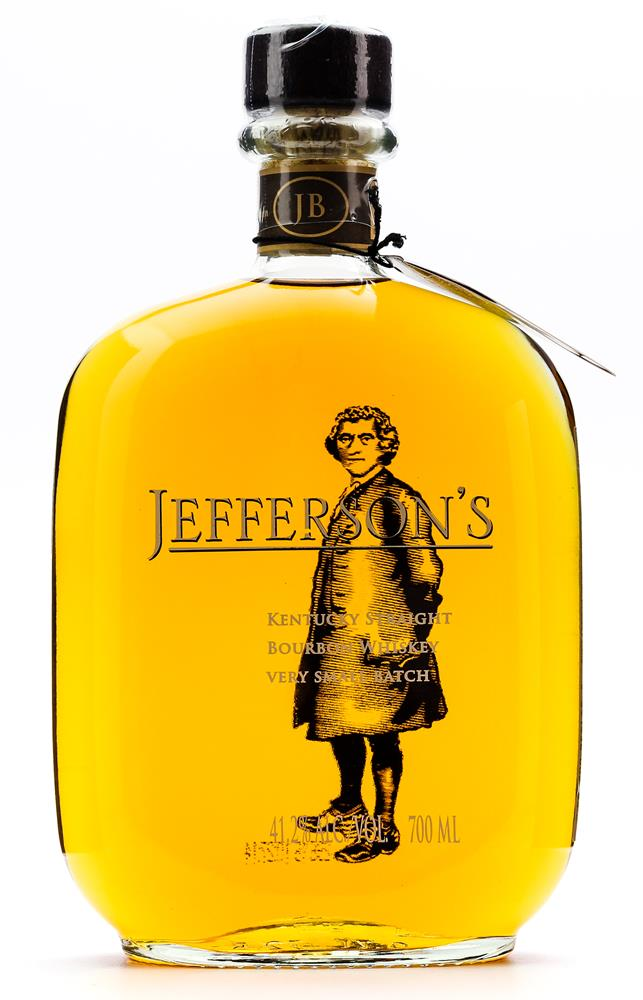 JEFFERSON'S SMALL BATCH BOURBON 41.2% 700ML