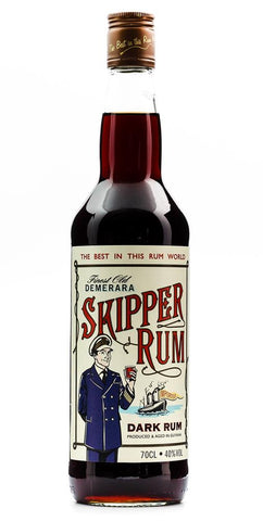 SKIPPER DARK RUM 700ML