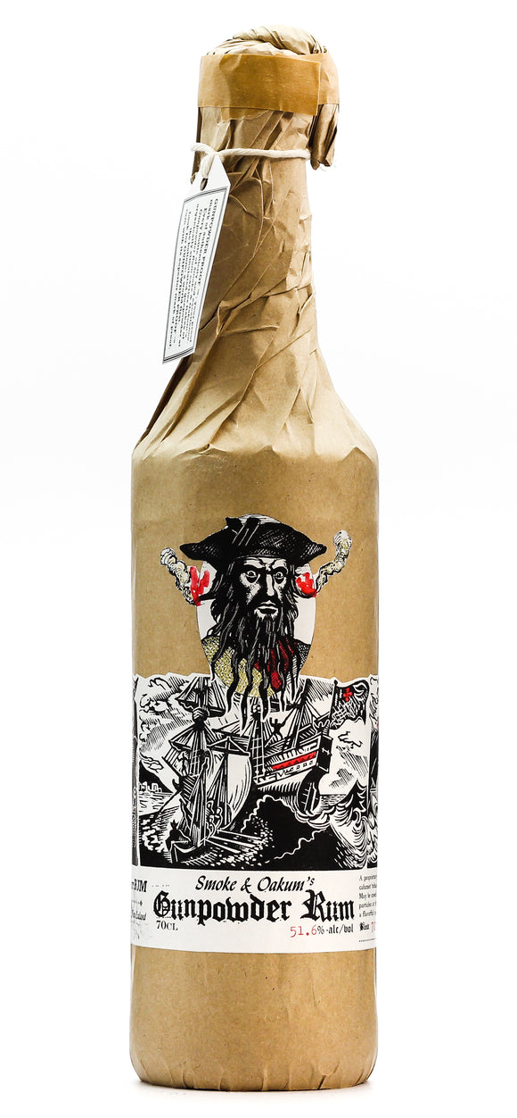 GUNPOWDER RUM 51.6% 700ML