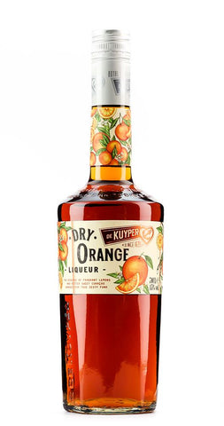 DE KUYPER ORANGE DRY CURACAO 700ML
