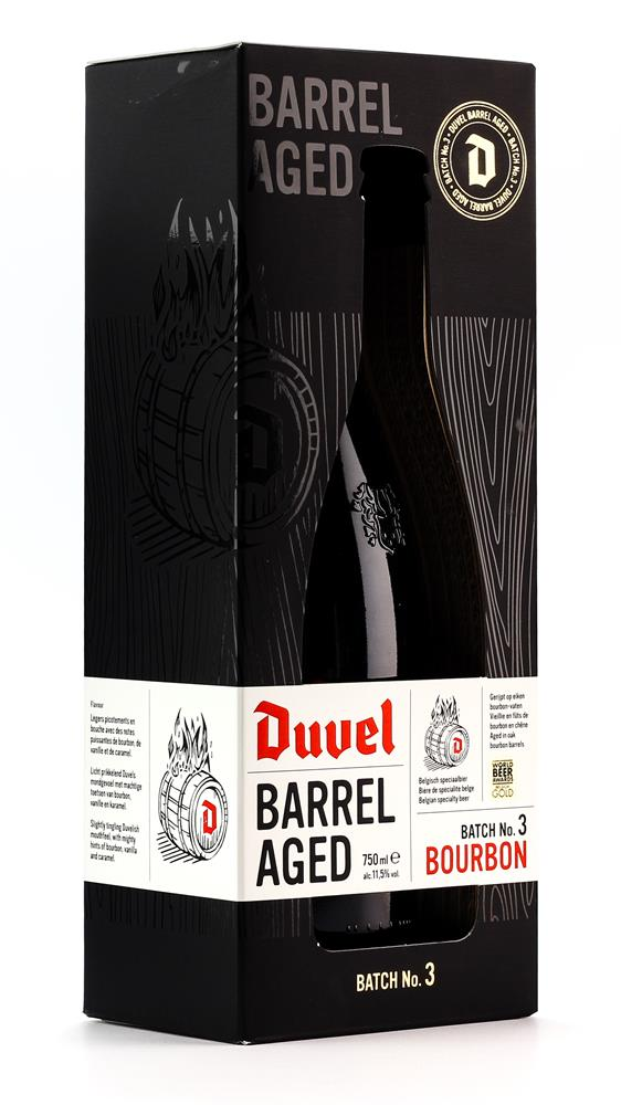 DUVEL BOURBON BARREL AGED 11.5% 750ML