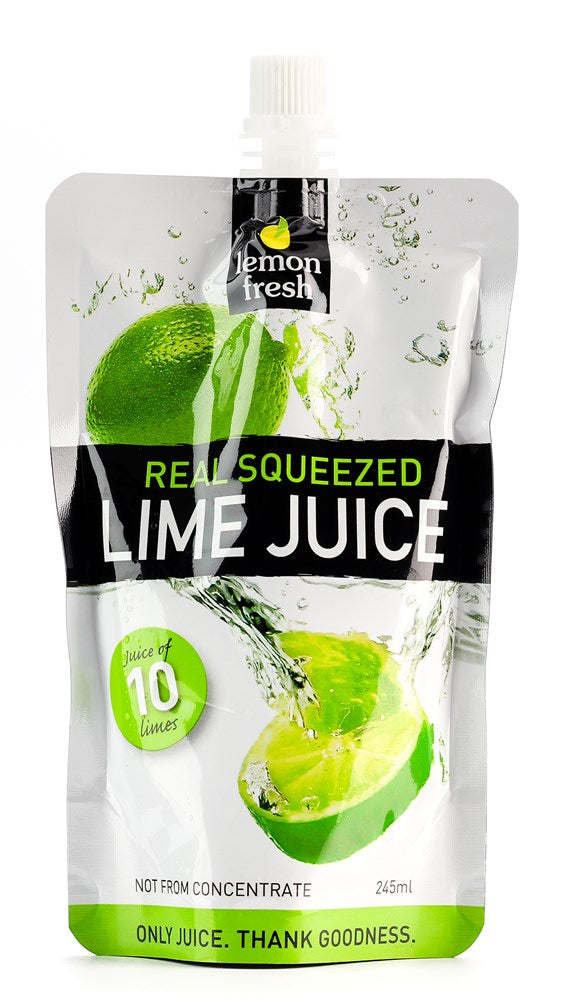 LIME FRESH JUICE 245ML