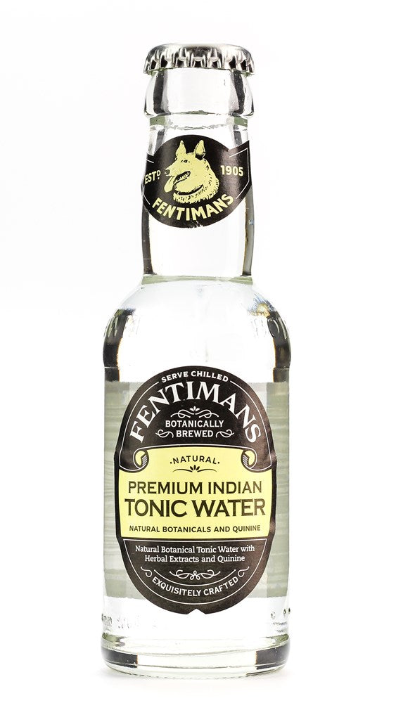 FENTIMANS TONIC WATER 125ML(dated)