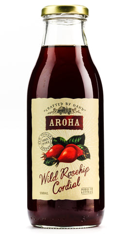 AROHA CORDIAL WILD ROSE HIP 500ML