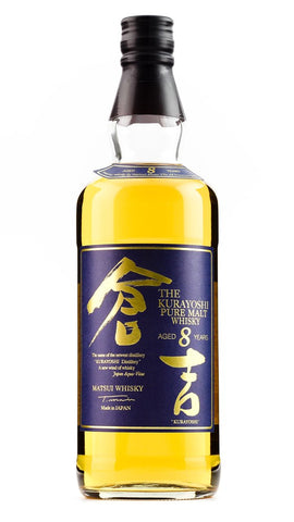 KURAYOSHI 8YO PURE MALT WHISKY 46% 700ML