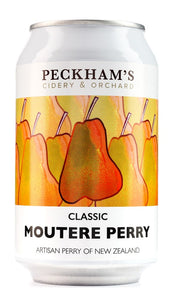 PECKHAM'S MOUTERE PERRY CIDER 330ML CAN