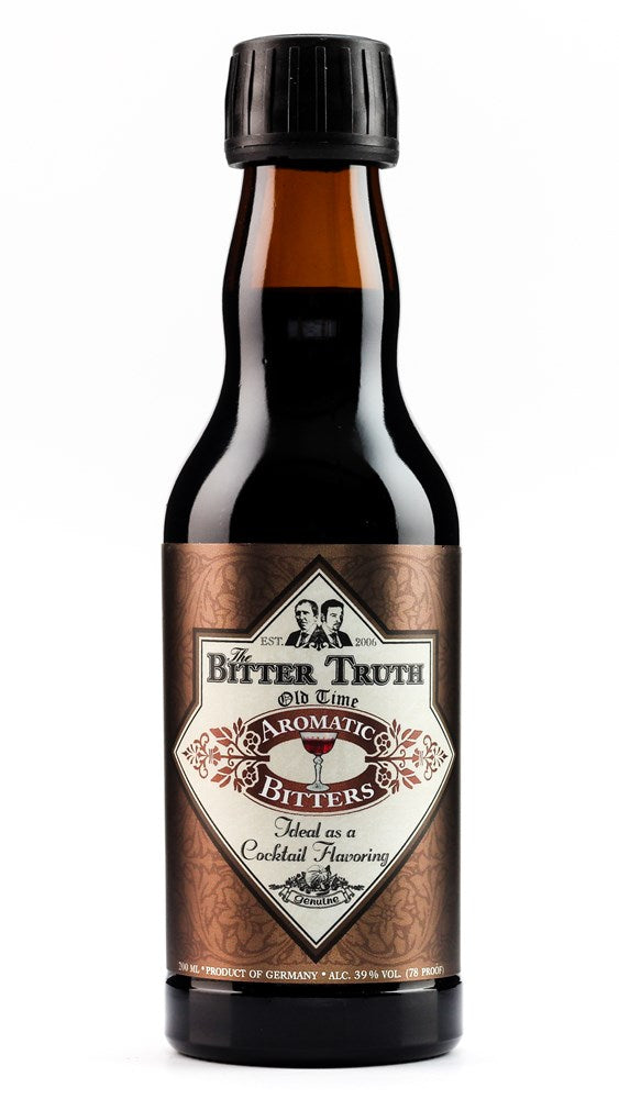BITTER TRUTH OLD TIME AROMATIC BITTERS 39% 200ML