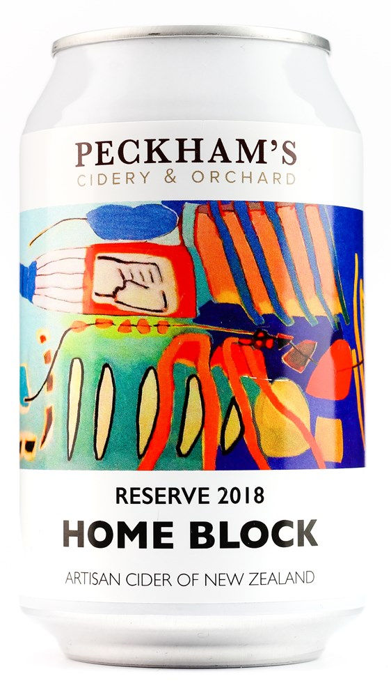 PECKHAM'S HOMEBLOCK CIDER CAN 330ML