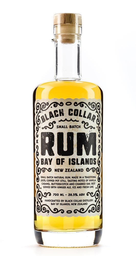 BLACK COLLAR PREMIUM RUM 38.50% 700ML