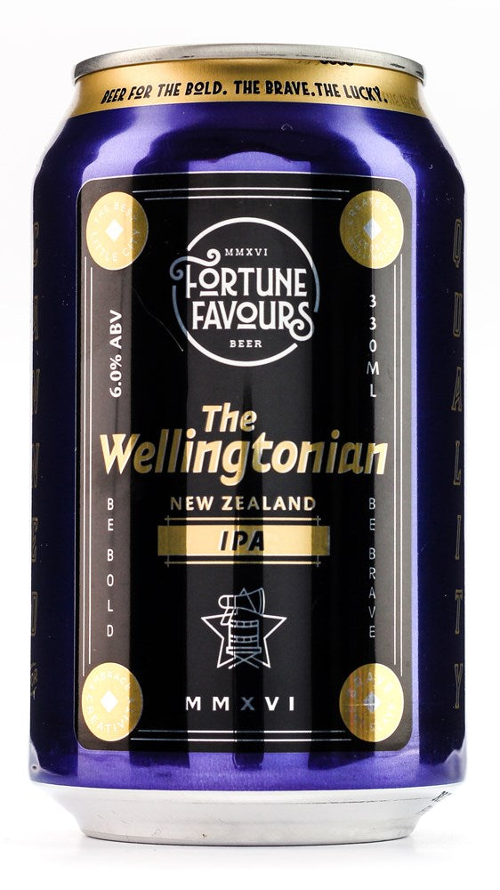 FORTUNE FAVOURS THE WELLINGTONIAN IPA 330ML