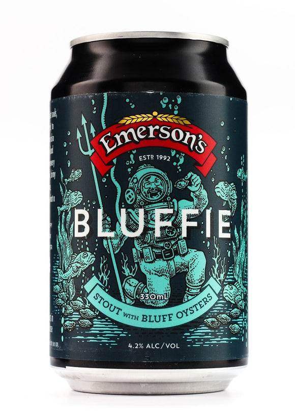 EMERSONS BLUFFIE OYSTER STOUT 330ML