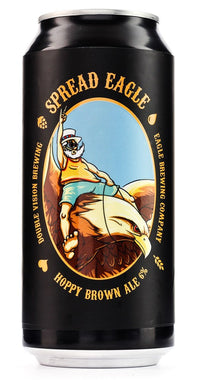 DOUBLE VISION SPREAD EAGLE BROWN ALE 440ML*-