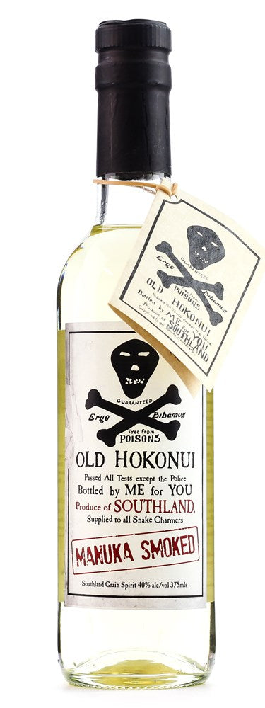 OLD HOKONUI MANUKA SMOKED SPIRIT 375ML