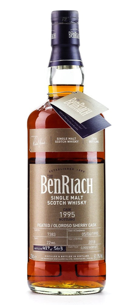 BENRIACH BATCH 15 22YO CASK #7383 51.1% 700ML
