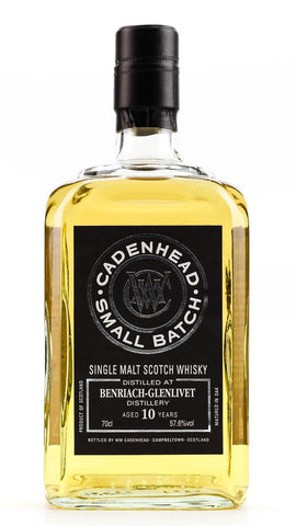 CADENHEAD BENRIACH 2008 10YO 57.6% 700ML