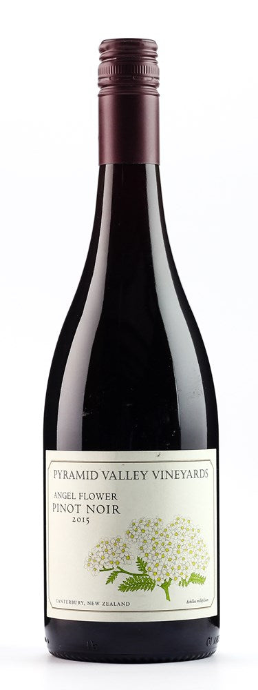 PYRAMID VALLEY PINOT NOIR ANGEL FLOWER 15